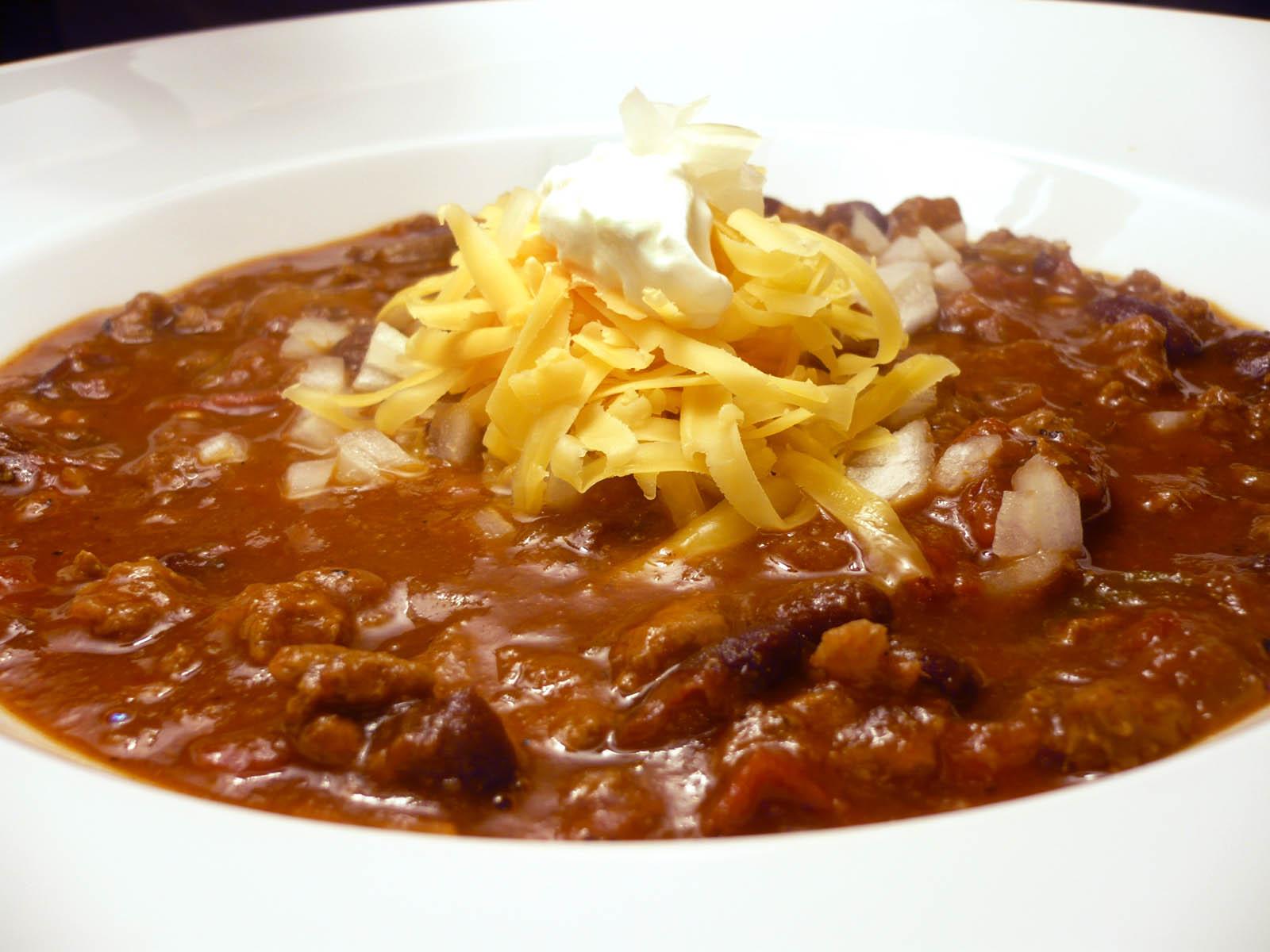 Quick easy chilli con carne recipe